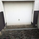 Garagentor Hochwasser-Schutz