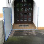 Wasserschutz bei Einfahrten