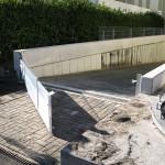 Hochwasserschutz für die Tiefgarage