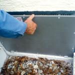 Montage einer Fensterabdeckung zum Schutz vor Hochwasser